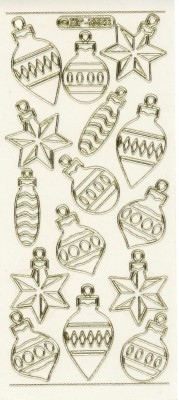 Christmas Tree Ornaments - Transparent